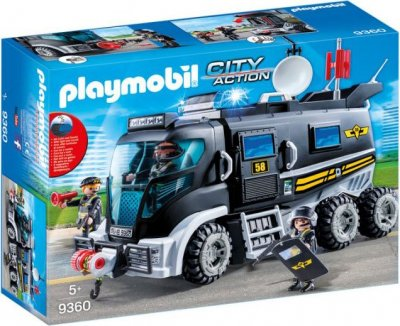 Playmobil City Action - Swat-Lastbil - 9360