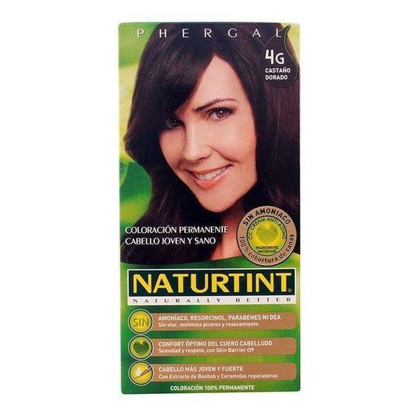 Farve uden Ammoniak Naturtint Naturtint Gylden kastanje