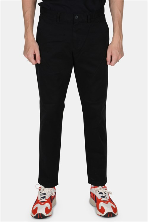 WoodBird Phillip Twill Pants Black