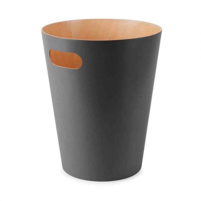 Umbra woodrow papirkurv (grå)