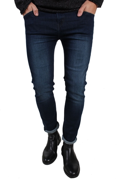 Cheap Monday Tight Jeans Deep Indigo