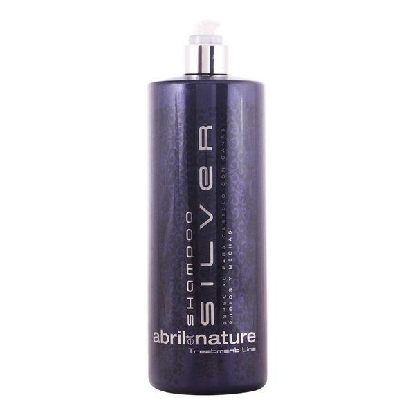 Shampoo Silver Abril Et Nature (1000 ml)