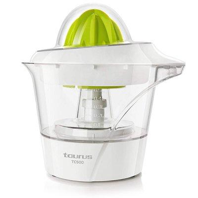 Taurus - Elektrisk Citruspresser Tc500 0,5L 40W - Grøn Hvid
