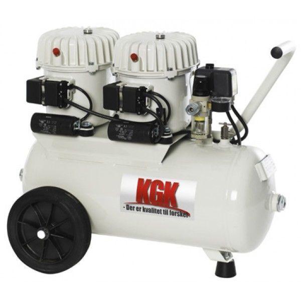 100L Lydsvag kompressor Kgk - olieholdig