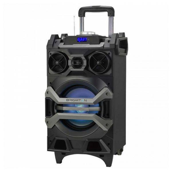 Bærbare Bluetooth-højttalere BRIGMTON BAP 750 750W Sort