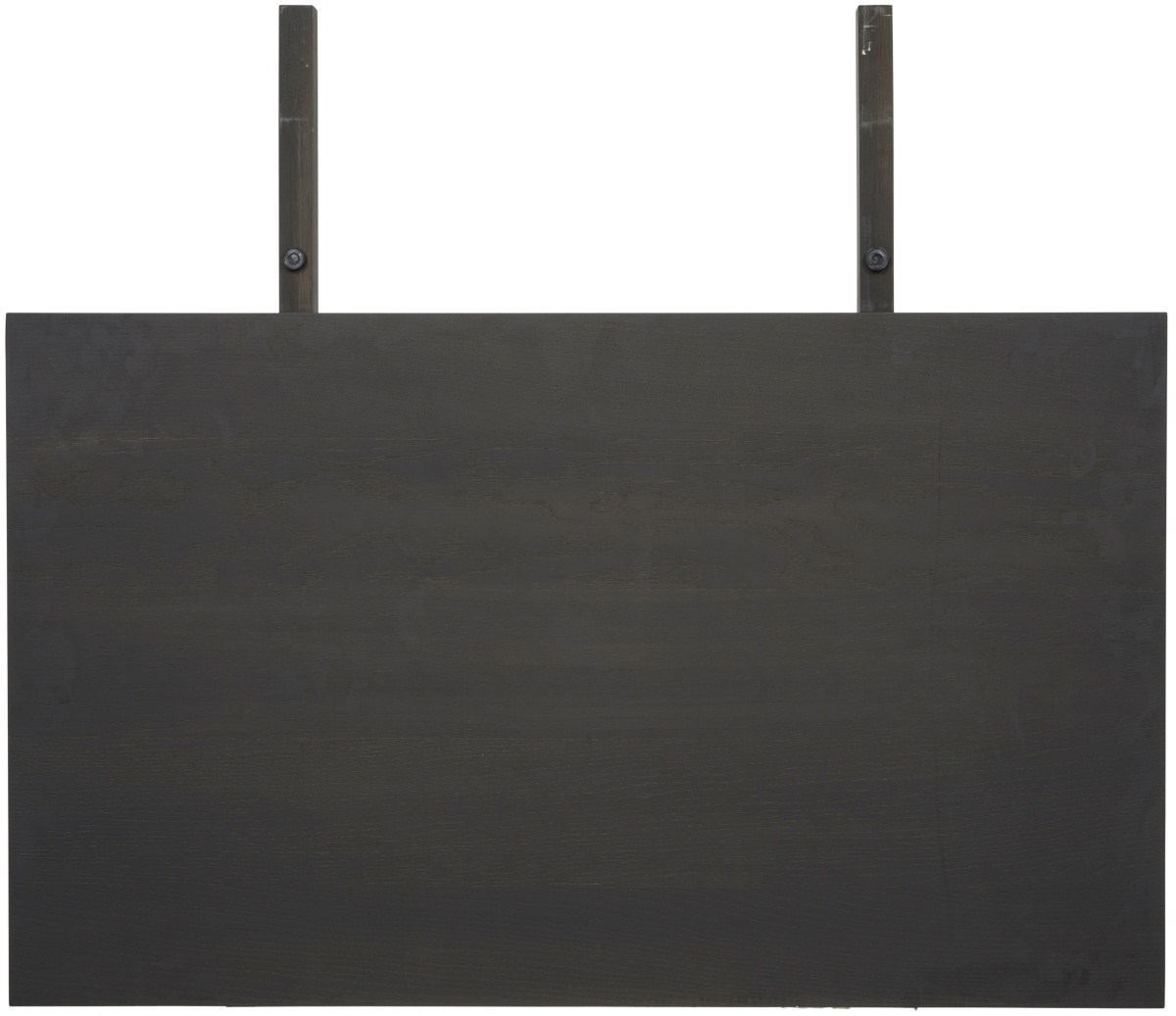 CANETT Aspen tillgsplade - antracitgr bejdset tr (80x45)