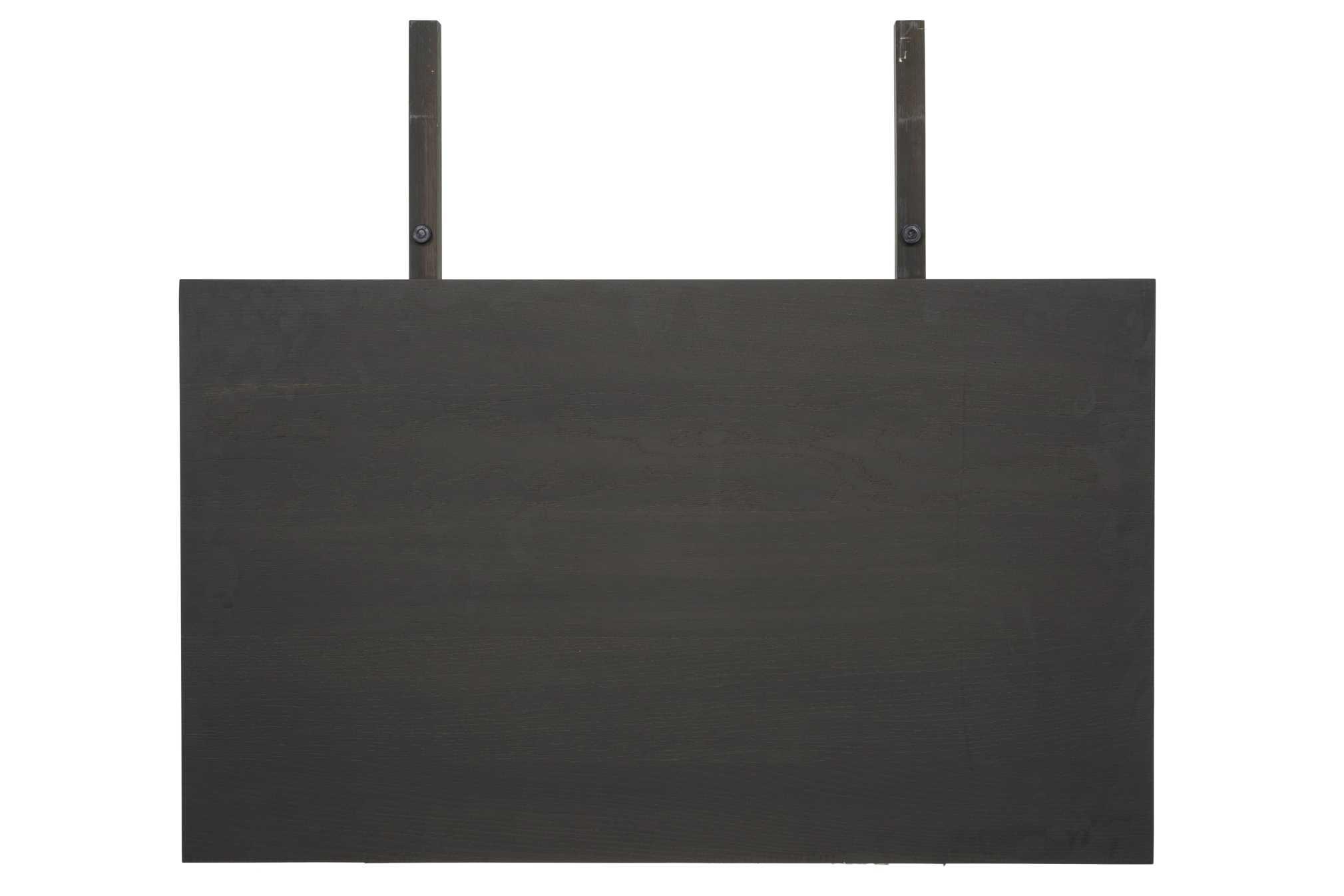 CANETT Aspen tillgsplade - antracitgr bejdset tr (100x60)