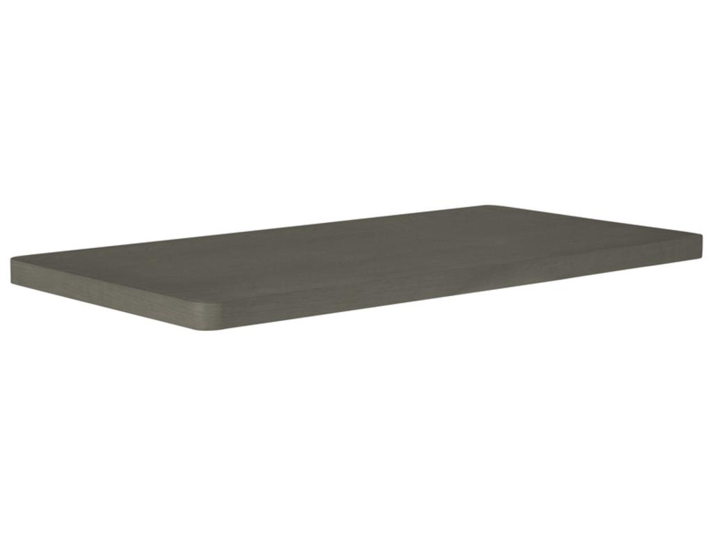 CANETT Bering tillgsplade - mrkegr tr (95x50)
