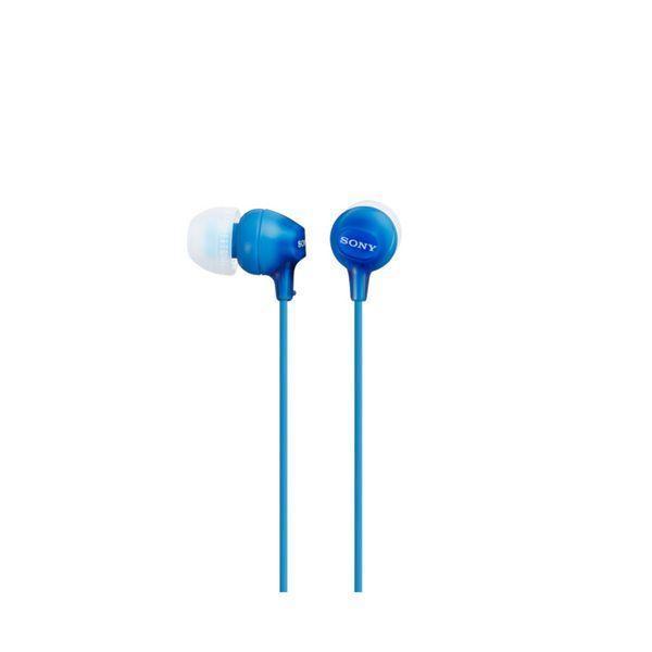 Hovedtelefoner Sony MDR EX15LP in-ear Blå