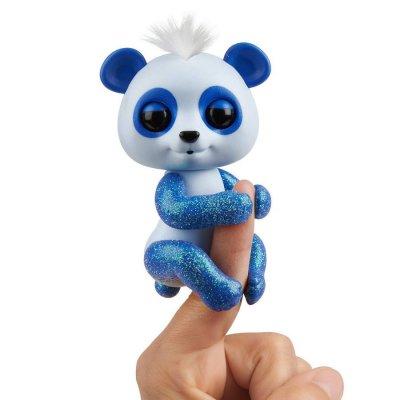 Fingerlings - Baby Panda Figur - Archie - Blå