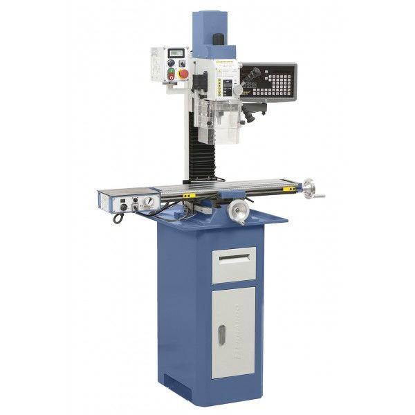 KF 25 Pro fræsemaskine med fremfæring og 3 akset digital display