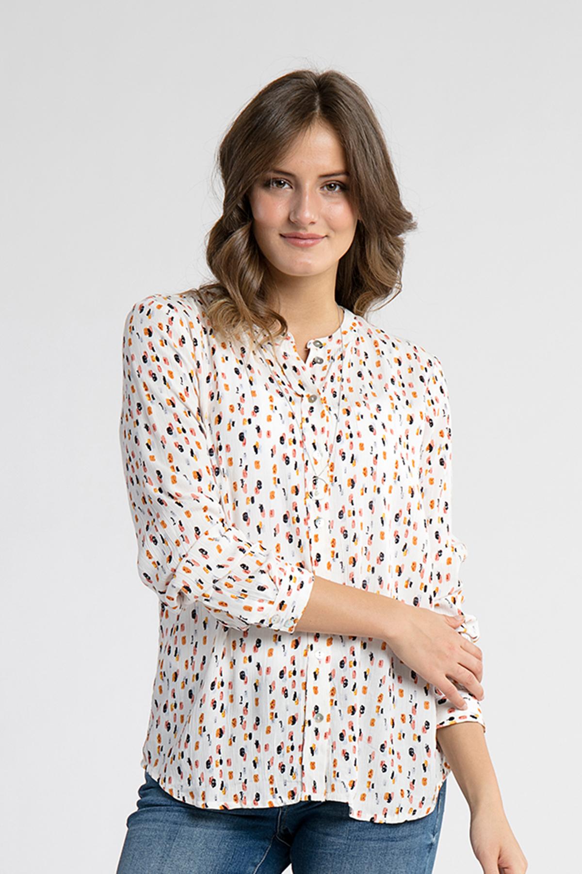 Langærmet skjorte
