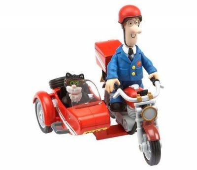 Postmand Per - Motorcykel Med Figurer