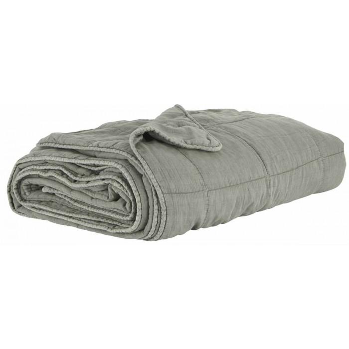 Ib laursen quilt sengetæppe mosgrøn