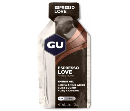 GU Energy Gel - Espresso Love - 40 mg koffein - 32 gram