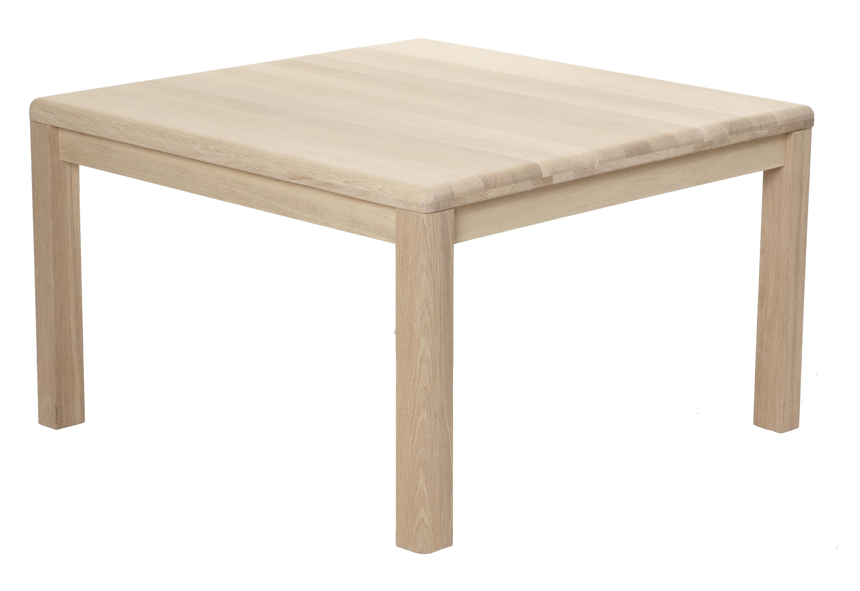 Lina sofabord - massiv egetr, kvadratisk