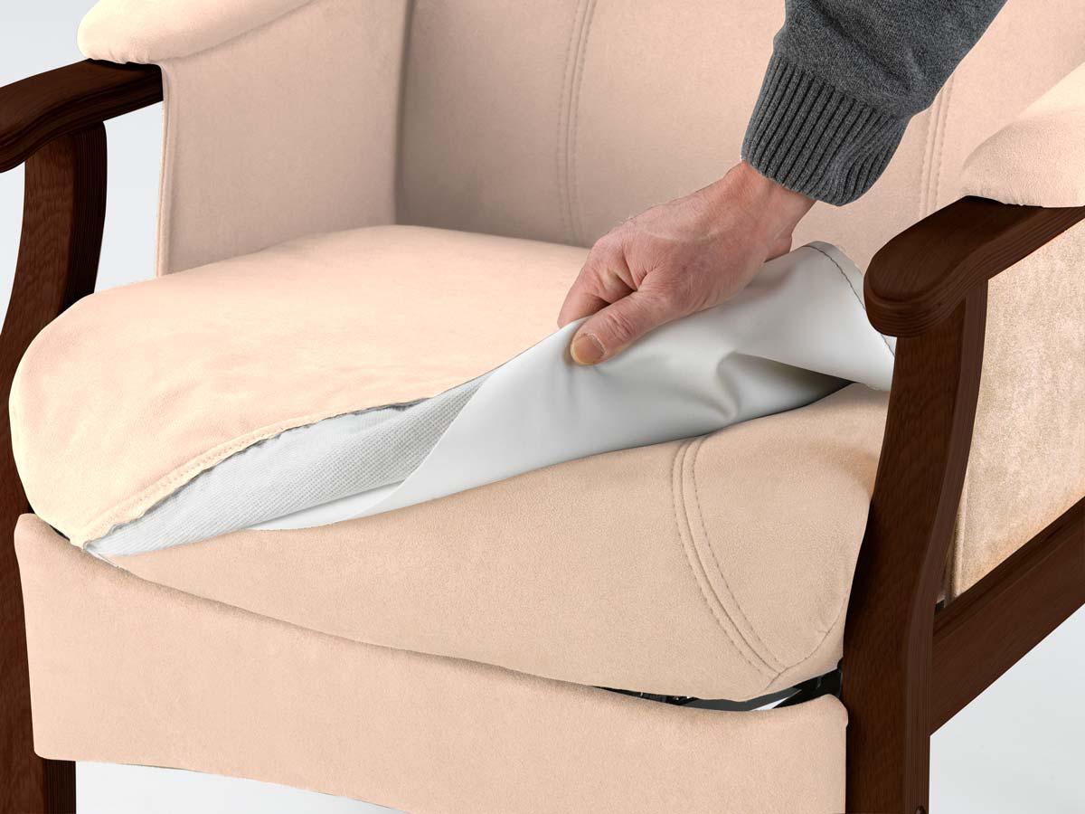 NORDIC-C separat inkontinensbetrk - sandfarvet stof, vaskbart