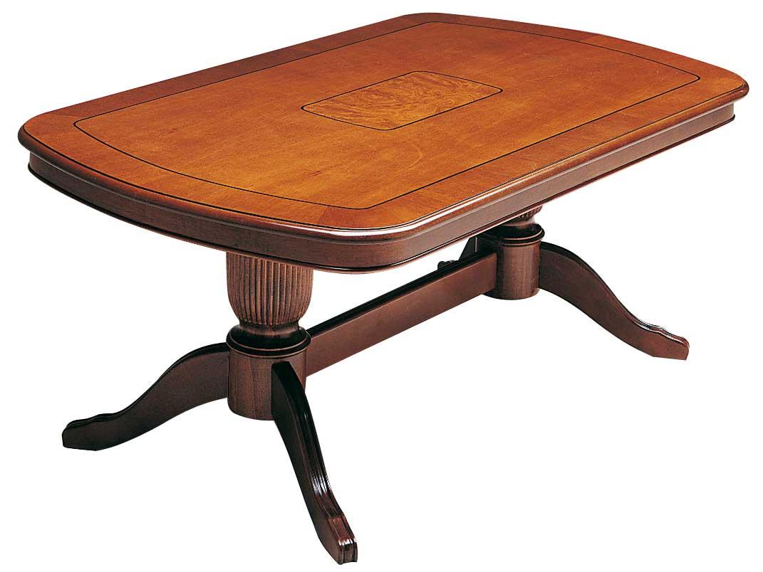 Mozart sofabord - valnddebrunt tr (130x80) - outlet