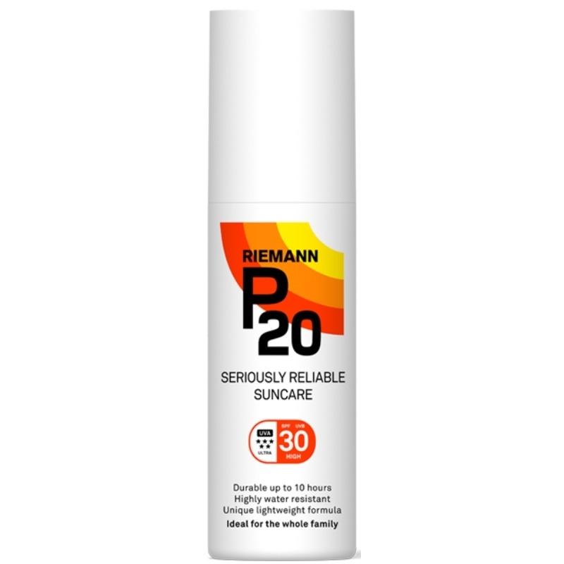 P20 Riemann Sun Protection Spray SPF 30 - 200 ml