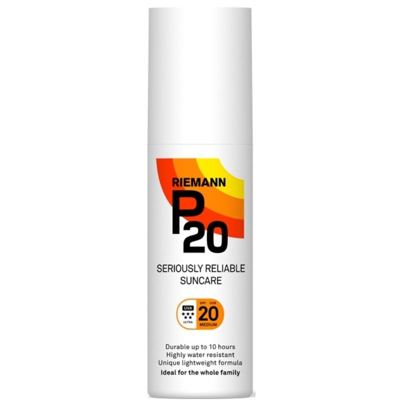 P20 Riemann Sun Protection Spray SPF 20 - 200 ml