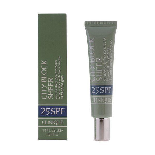 Solcreme til ansigtet Cityblock Clinique SPF 25 (40 ml)