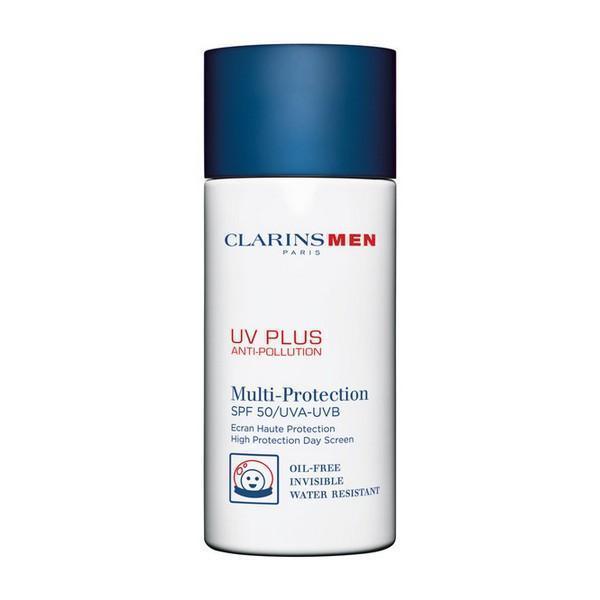 Solcreme til ansigtet Men Uv Plus Clarins (50 ml)