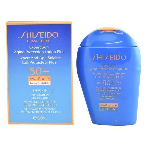 Solcreme Expert Sun Aging Protection Shiseido Spf 50 (100 ml)