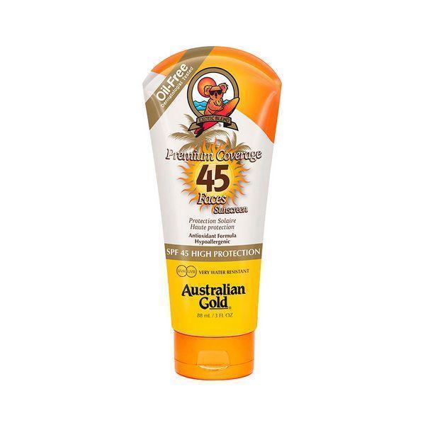Solcreme til ansigtet Premium Coverage Australian Gold SPF 45 (88 ml)