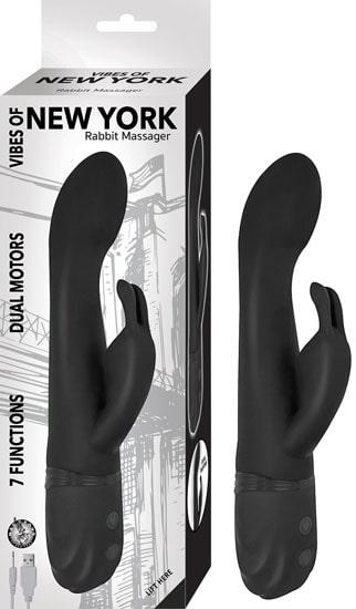 NASSTOYS Vibes of New York Luksus Rabbit Vibrator - Sort