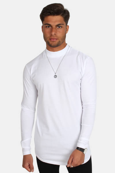 Only & Sons Hulio LS T-shirt White