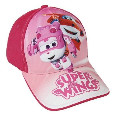 Super Wings Kasket - Barn - Pink - 53 Cm
