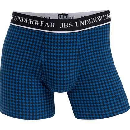 JBS Drive 955 Tights navy og blå ternet/mønstret