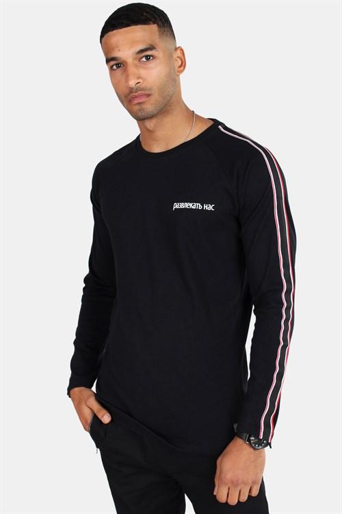 Just Junkies Dall L/S T-Shirt Black
