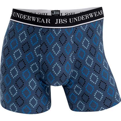 JBS Drive 955 Tights blå med sort og blåt mønster