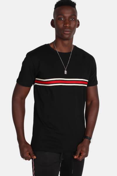 Just Junkies Jeffrey T-shirt Black