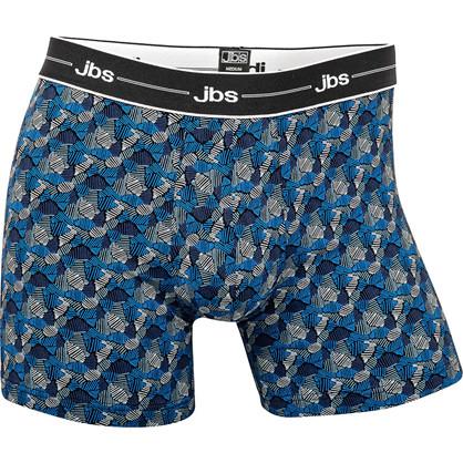 JBS Drive 955 Tights mørkeblå, blå og hvid mønstret
