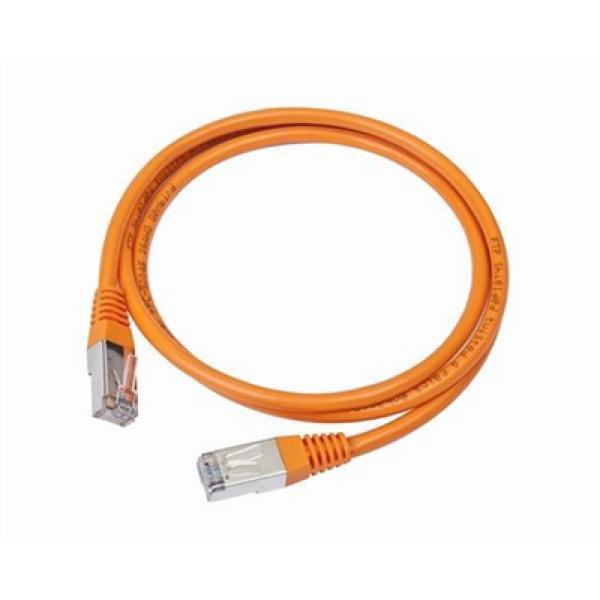 CAT 5e UTP kabel iggual IGG310687 2 m Orange