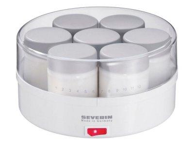 Severin - Yoghurtmaskine 13 Watt - Hvid/Grå