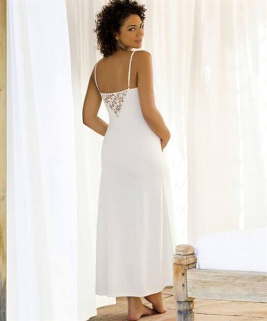 Natkjole Sofia, Pearl XXL - Cache coeur