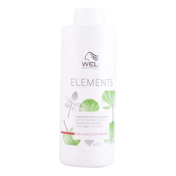 Reparerende Hårbalsam Elements Wella (1000 ml)