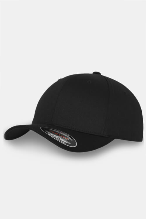 Flexfit Wooly Combed Original Cap Black