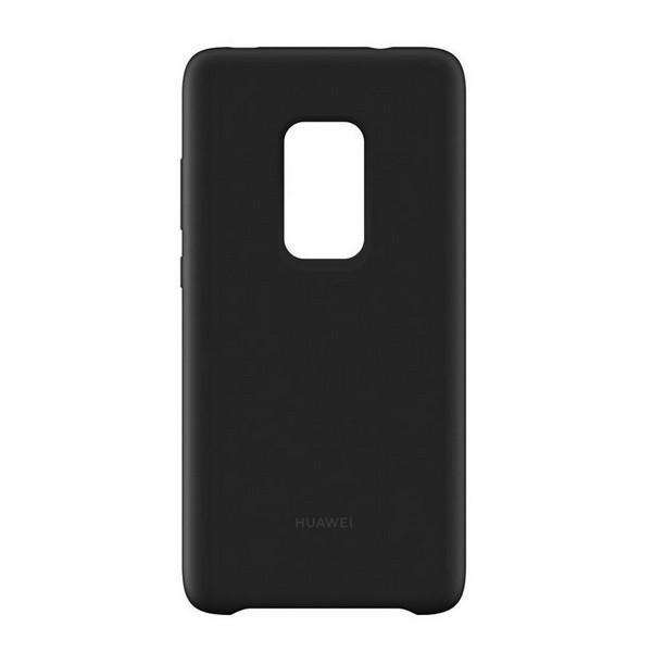 Mobilcover Huawei Mate 20 Silikone Sort