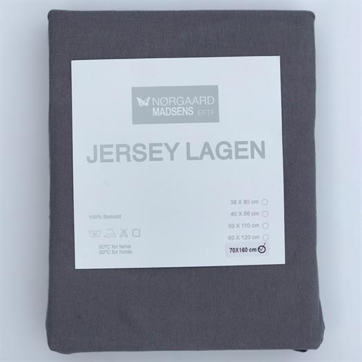 Lagen Jersey 70x160 cm Grå - Nørgaard Madsen