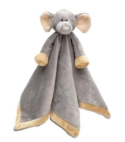 Nusseklud Elefant med navn - Teddykompaniet