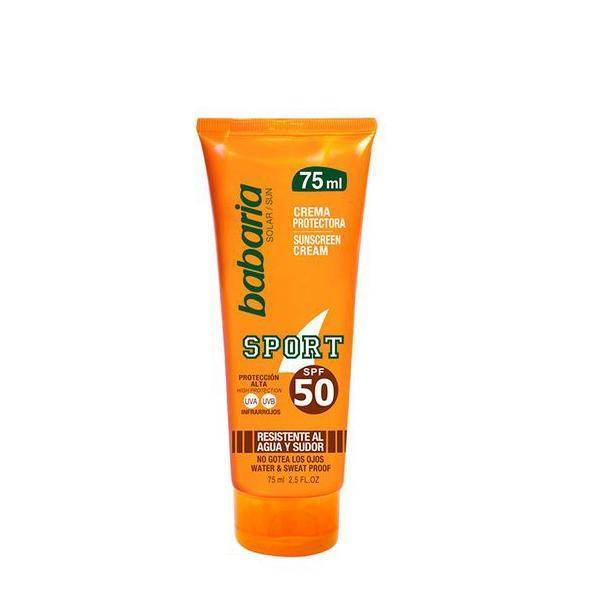Solcreme Sport Babaria SPF 50 (75 ml)