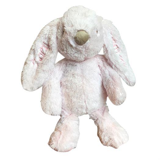 Kaninbamse Lolli Bunnies med navn, lyserød 37 cm - Teddykompaniet