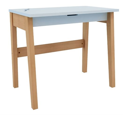 Skrivebord, Lyseblå - MOBI Furniture