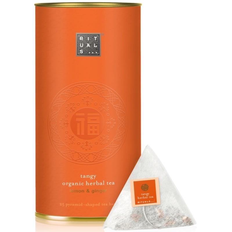RITUALS Happy Buddha Organic Herbal Lemon & Ginger Tea 25 Pcs.