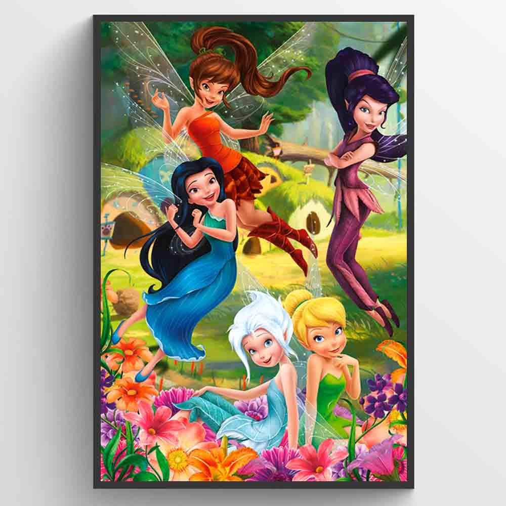 Disney Fairies Flowers Plakat