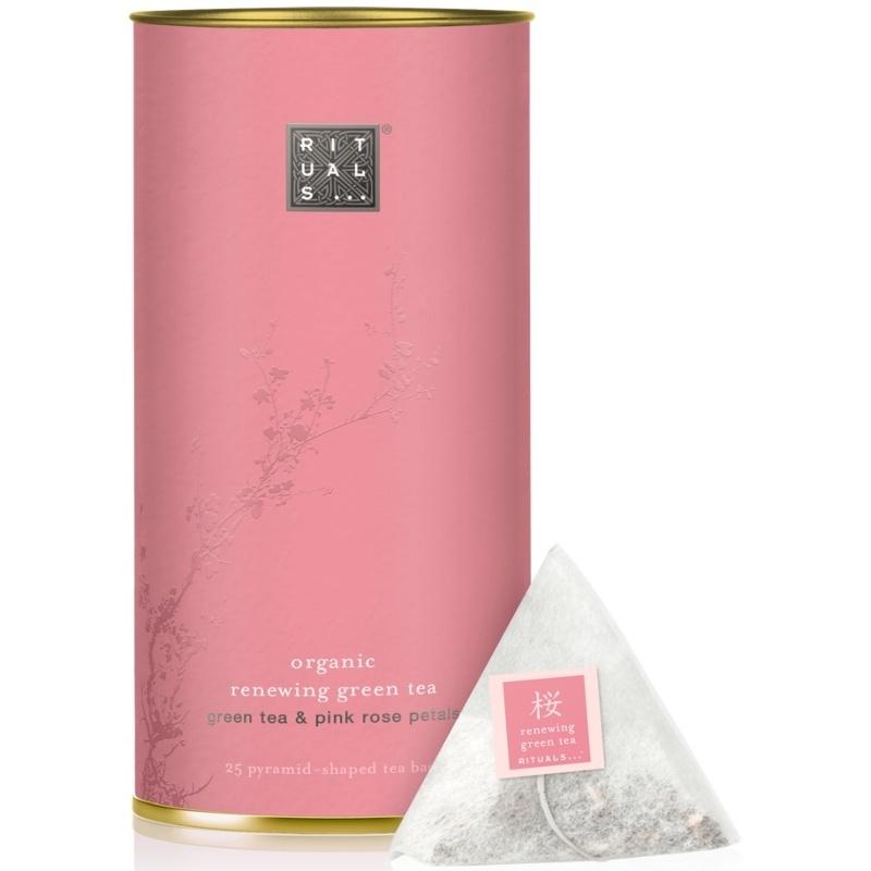 RITUALS Sakura Organic Renewing Green Tea & Pink Rose Petals Tea 25 Pcs.